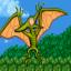 Green Pterodactyl