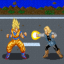 Goku vs Android 18 in Earth