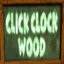 Click Clock Wood