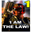 I am the law! [1]