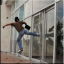 Glass burglar