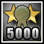 Awarded for being a hard-working developer and producing achievements that have been earned over 5000 times!